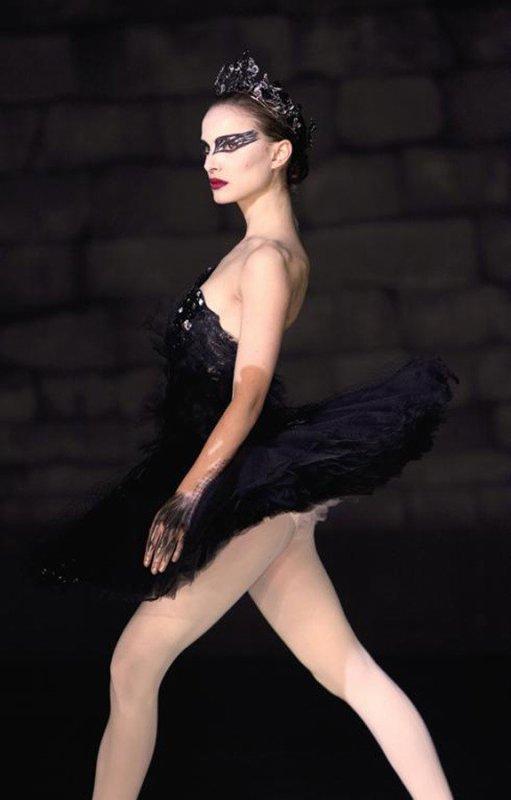 L'élégance suprême de Nina (Natalie Portman)en cygne noir