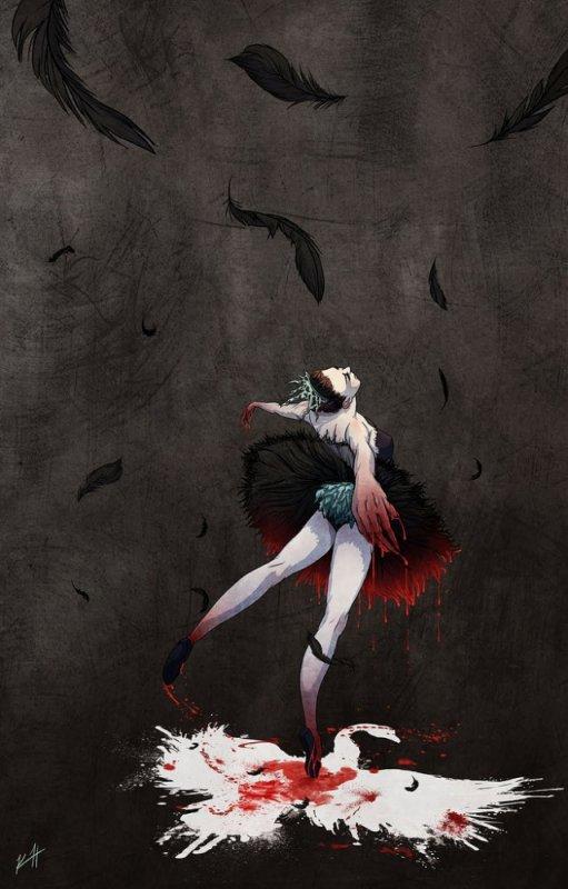 BLACK SWAN la gloire pour le lac des cygnes , superbement interprété par ; NATHALIE PORTMAN.