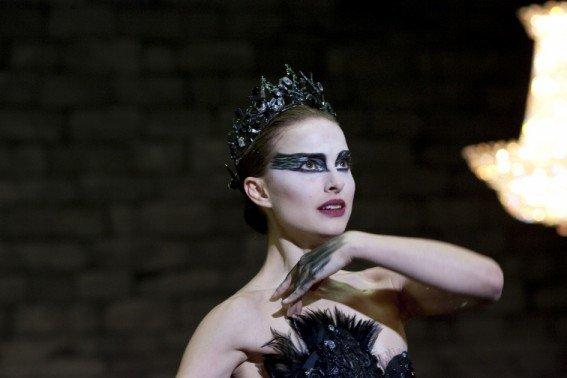 Nina (Nathalie Portman) en cygne noir