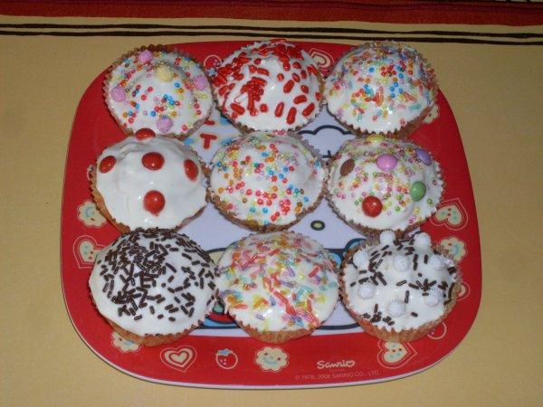 Mes premier Cupcakes