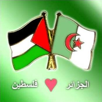 l'algerie avec palestine