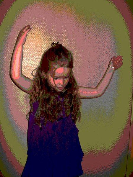 MA MINETTE EN PLEINE DANCE