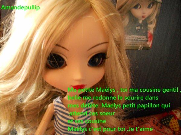 Pour Maélys la cousine de Emma