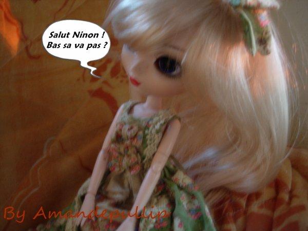 Ninon triste ?