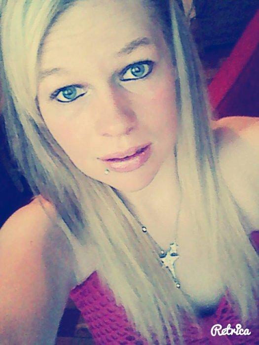 miiiss blonde :P
