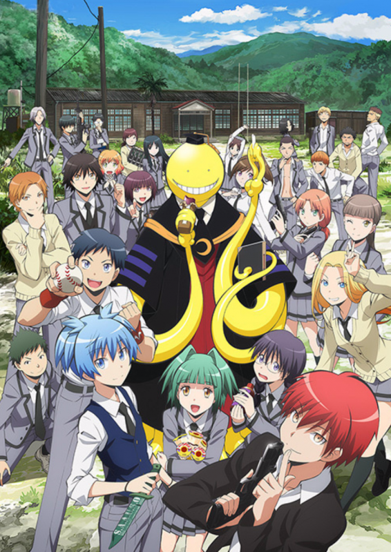 Critique anime : Assassination classroom