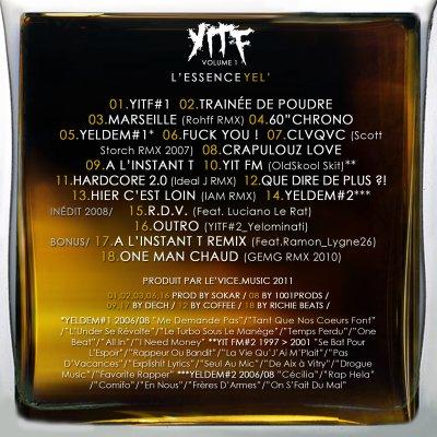 #YITF Vol.1 : L'ESSENCE YEL' ENFIN DISPO !!!!!