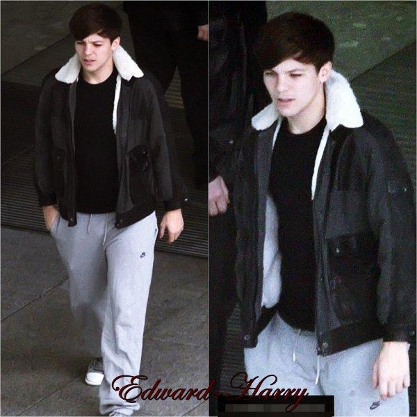 17.01 - Les One Direction ont été vue en arrivant à l'aéroport en Afrique.