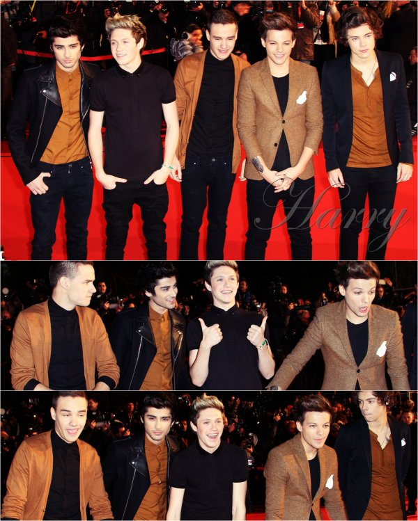 26.01 - Les One Direction aux NRJ Music Awards.