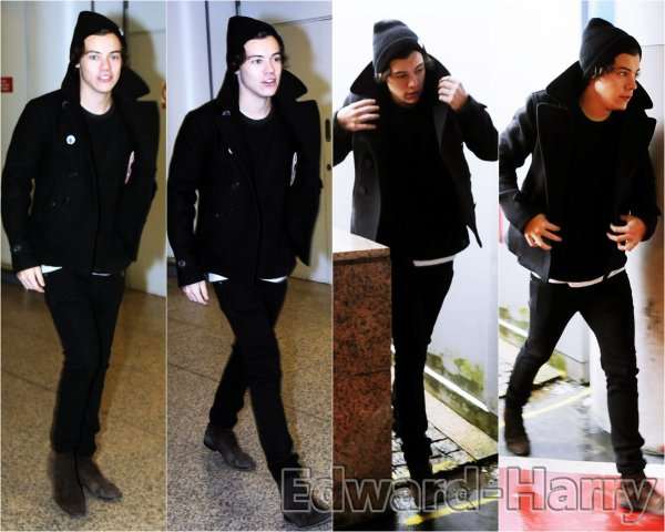 28.01 - Harry à été à l'aréoport de Londres.