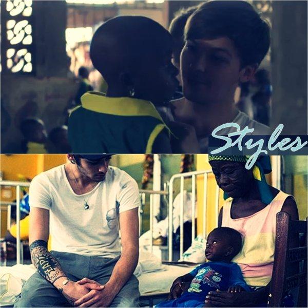 Les One Direction en visitant l'hôpital à Ghana + Vidéo.