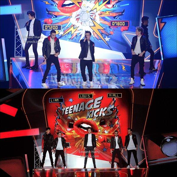 Leurs Performances au Brit Awards. (suite)