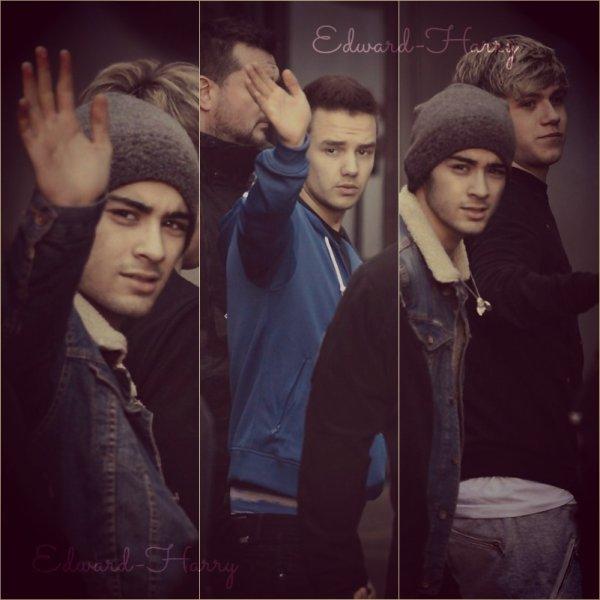 26.02 - Les One Direction ont été vue en arrivant à Glasgow, Ecosse.