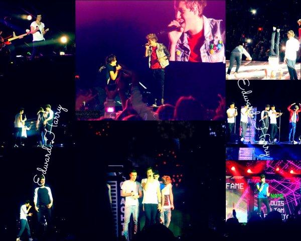 02.03 - Les One Direction ont donné un concert à Cardiff.