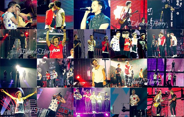 13.03 - Les One Direction faisant un concert à Dublin.