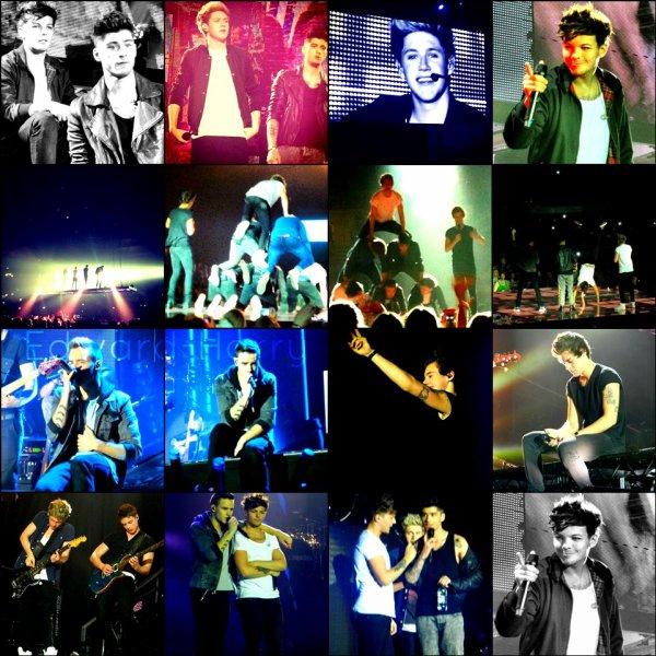 13.04 - Les One Direction faisant un concert à Sheffield, United Kingdom.