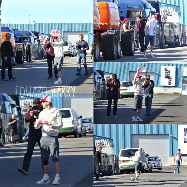 05.05 - Niall et Zayn ont été vue à l'aéroport d'Allemagne