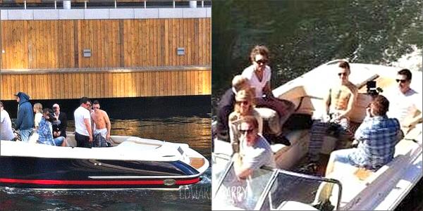 07.05 - Harry à été vue en dehors de Telenor Arena à Oslo en Norvège.