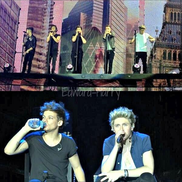07.05 - Les One Direction faisant leurs concert en Norvège.