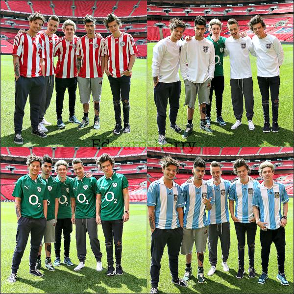 15.05 - Harry et Liam ont été dans Londres.