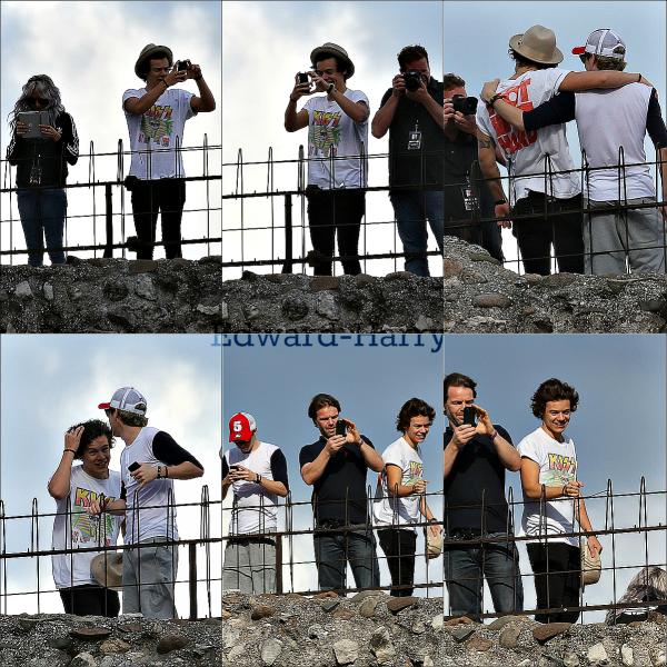 19.05 - Les One Direction ont été vue en arrivant à leurs hôtel à Milan.