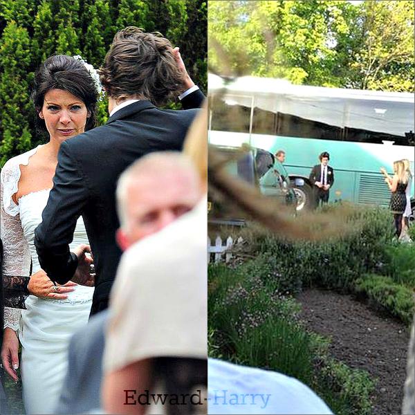 01.06 - Harry à été au mariage de sa mère Anne.