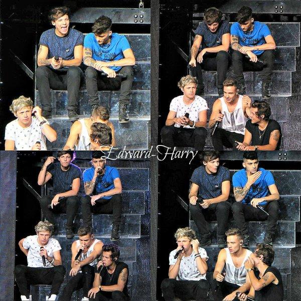 12.07 - Les One Direction faisant un concert à Detroit.