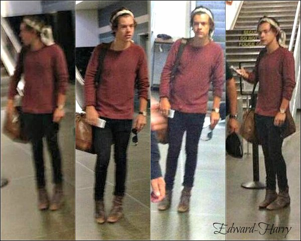 18.07 - Harry à l'aéroport de Minneapolis.