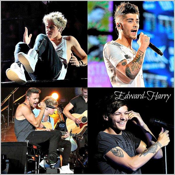 22.07 - Les One Direction faisant un concert à Dallas.