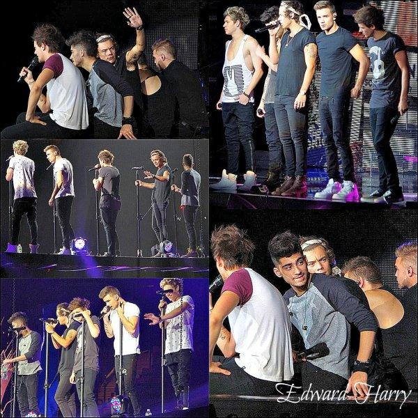 25.07 - Les One Direction faisant un concert à SLC.