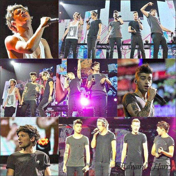 27.07 - Niall, Zayn, Liam et louis ont été vue en dehors du Arena à Vancouver.