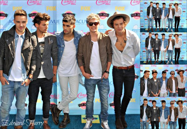 11.08 - Les One Direction au TCA 2013.