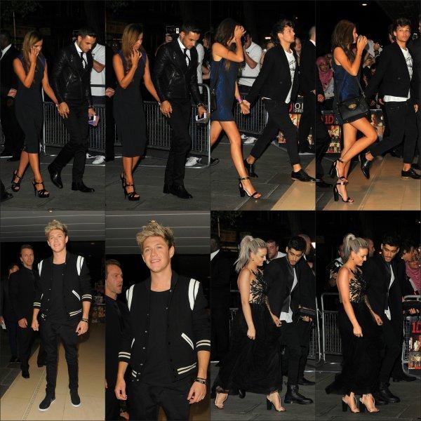 Les One Direction à l'avant première de leurs film THIS IS US !