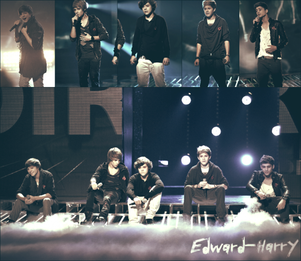 Flash-Back : 30.11.2010  - Les One Direction à X Factor performant Total Eclipse of the Heart;