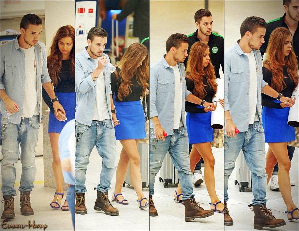 11.08 - Sophia et Liam ont été vue à l'aéroport de Heathrow Airport pour Paris.
