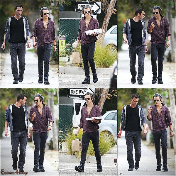 17.09 - Harry et une femme ont été vue à la galerie des arts à Londres.