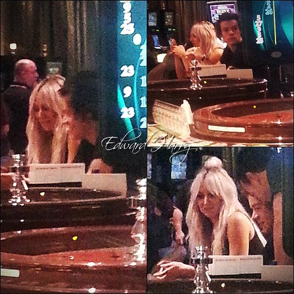 27.09 - Harry à été vue dans un casino en Australie.