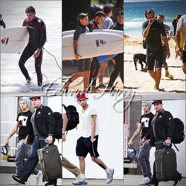 05.10 - Les One Direction faisant leurs concert à Sydney en Australie.