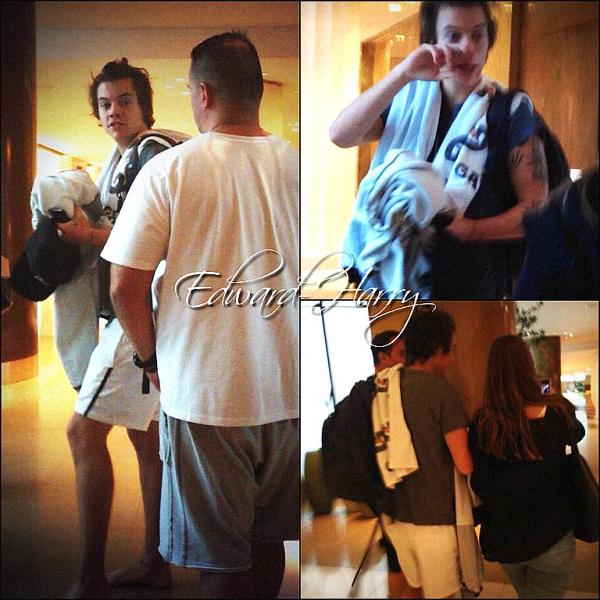 13.10 - Niall, Harry et Liam ont été vue en quittant leur hôtel à Auckland en Nouvelle Zealand + Concert.