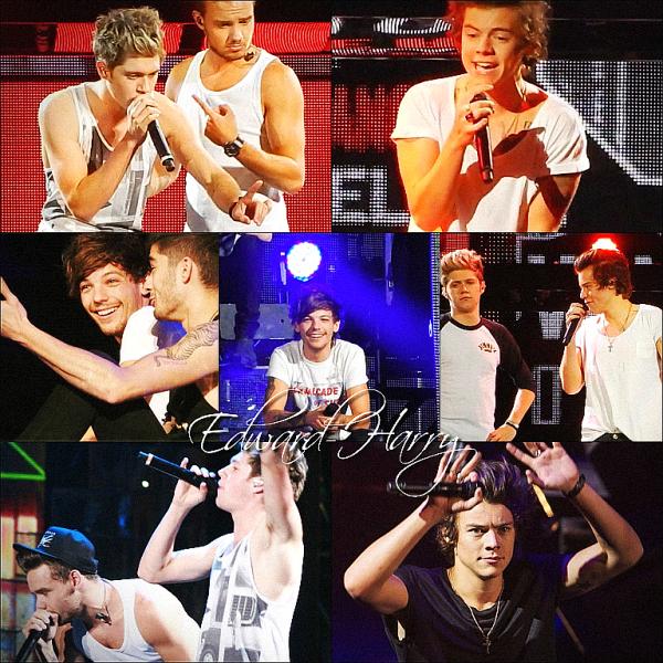 17.10 - Les One Direction faisant un concert à Melbourne en Australie.
