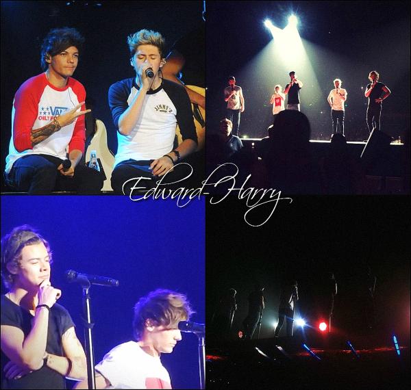 19.10 - Harry et Niall ont été vue en dehors de l'aréna Brisbane en Australie + Concert.