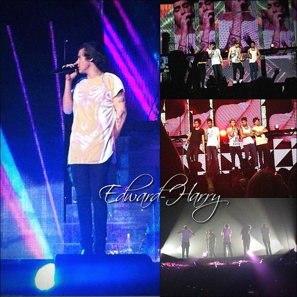 20.10 - Niall, Louis et Zayn ont été vue en dehors du aréna à Brisbane en Australie + Concert.