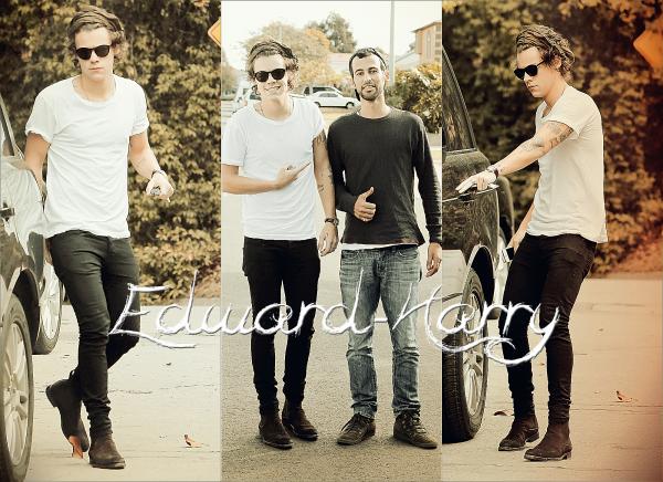 22.11 - Harry seul à été vue en allant au studio à L.A. Va t'il enregistrer un single pour la 2ème fois ?