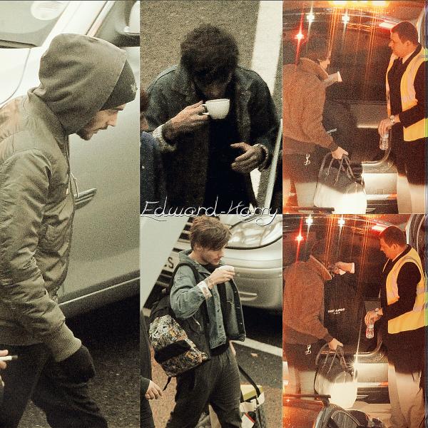 26.11 - Zayn, Louis, Niall et Liam ont été en arrivant à leurs hôtel à NYC.