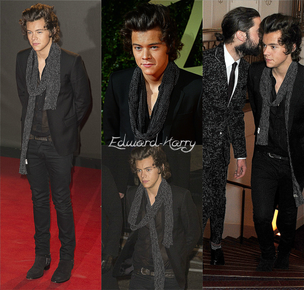 02.12 - Harry à la Fashion Awards britanniques 2013.