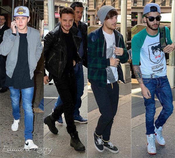 03.11 - Harry à été vue sortant d'un restaurant à NY.