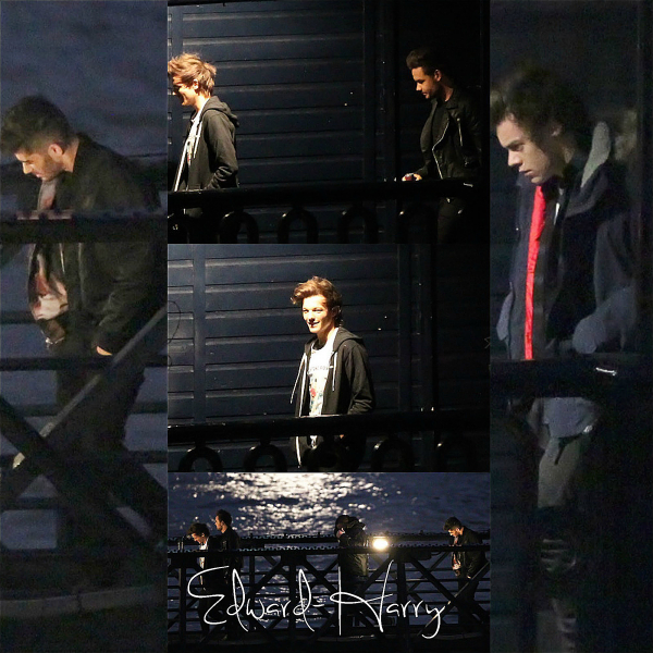 Les One Direction ont été au studio de X Factor USA pour chanté  Midnight Memories.