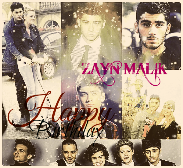 Happy Birthday Zayn !