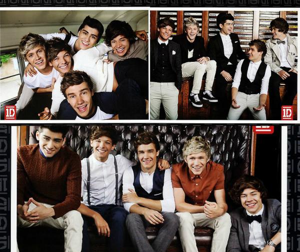 Voici des anciens photoshoot des One Direction.