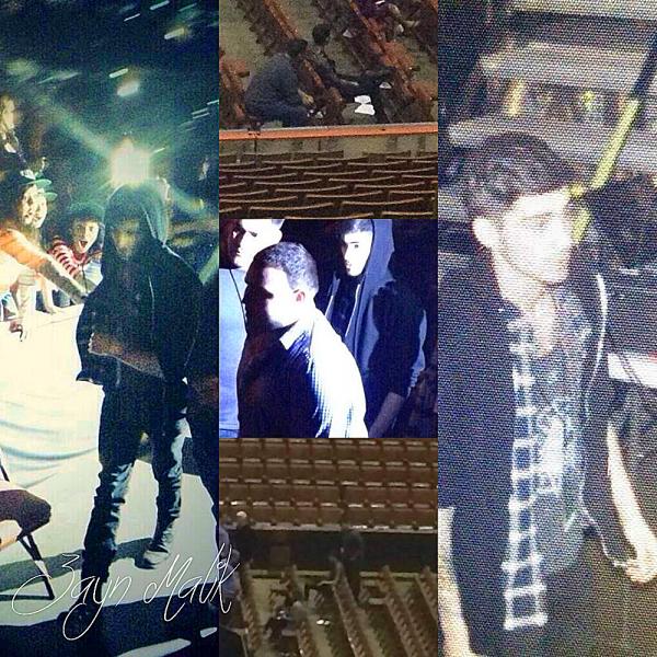 13.02 - Zayn à été vue au concert et de Demi Lovato à Anaheim.